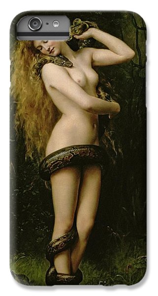 Garden Snake iPhone 6 Plus Case - Lilith by John Collier