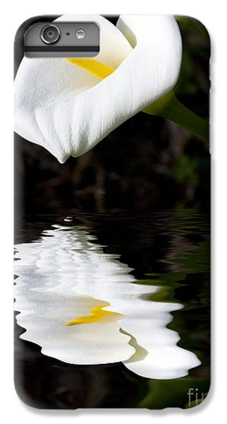Lily Reflection IPhone 6 Plus Case by Avalon Fine Art Photography