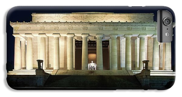 Lincoln Memorial At Twilight IPhone 6 Plus Case by Andrew Soundarajan