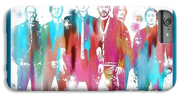 Linkin Park Watercolor Paint Splatter IPhone 6 Plus Case by Dan Sproul