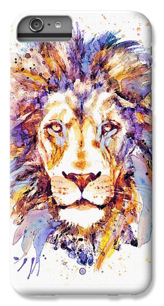 Lion Head iPhone 6 Plus Case - Lion Head by Marian Voicu