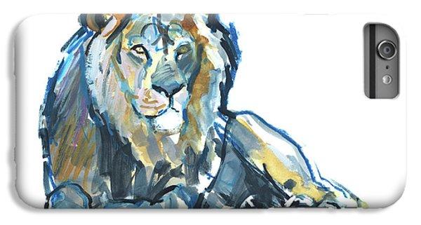 Lion iPhone 6 Plus Case - Lion by Mark Adlington