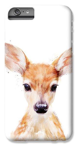 Nature iPhone 6 Plus Case - Little Deer by Amy Hamilton