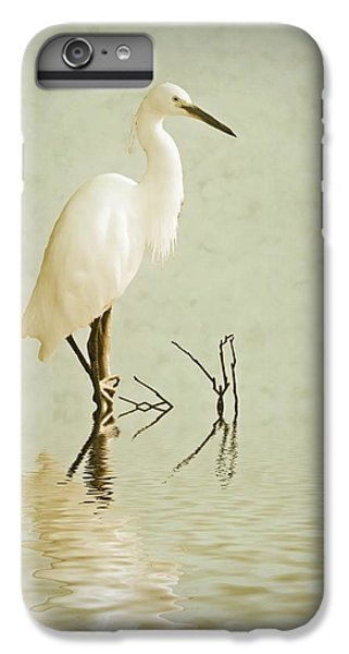 Little Egret IPhone 6 Plus Case by Sharon Lisa Clarke