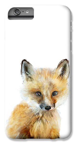 Little Fox IPhone 6 Plus Case by Amy Hamilton