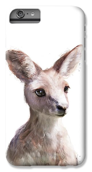 Little Kangaroo IPhone 6 Plus Case by Amy Hamilton