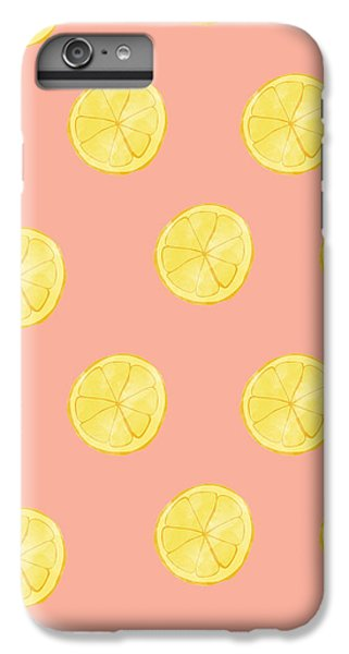 Little Lemons IPhone 6 Plus Case by Allyson Johnson