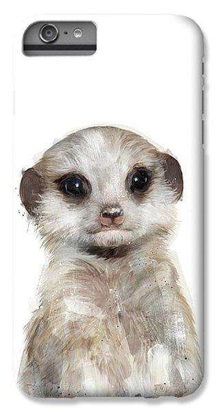 Meerkat iPhone 6 Plus Case - Little Meerkat by Amy Hamilton