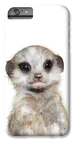 Little Meerkat IPhone 6 Plus Case by Amy Hamilton