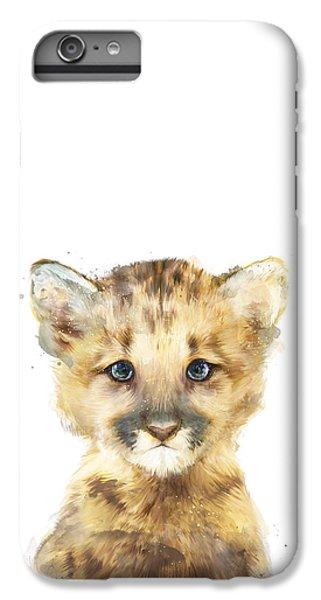 Little Mountain Lion IPhone 6 Plus Case by Amy Hamilton