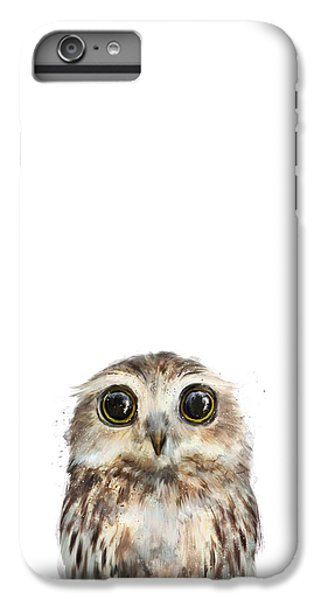 Owl iPhone 6 Plus Case - Little Owl by Amy Hamilton