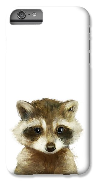 Little Raccoon IPhone 6 Plus Case by Amy Hamilton