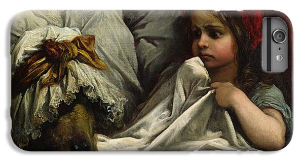Fairy iPhone 6 Plus Case - Little Red Riding Hood by Gustave Dore