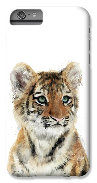 Tiger iPhone 6 Plus Case - Little Tiger by Amy Hamilton