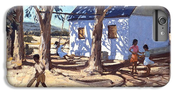 Cricket iPhone 6 Plus Case - Little White House Karoo South Africa by Andrew Macara