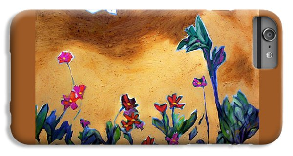 IPhone 6 Plus Case featuring the painting Living Earth by Winsome Gunning