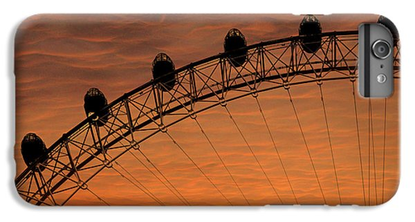 London Eye Sunset IPhone 6 Plus Case by Martin Newman