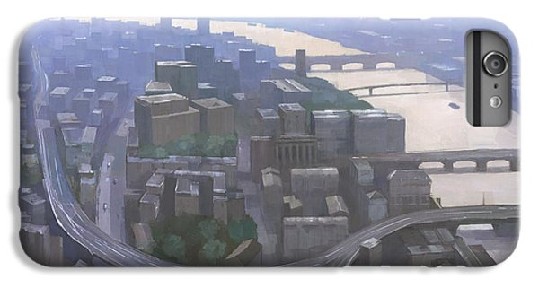 London, Looking West From The Shard IPhone 6 Plus Case by Steve Mitchell