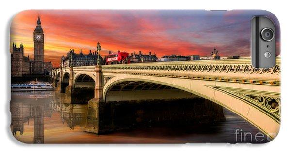 London iPhone 6 Plus Case - London Sunset by Adrian Evans