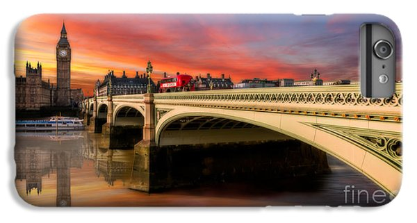 London Sunset IPhone 6 Plus Case by Adrian Evans
