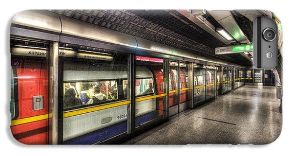 London Underground IPhone 6 Plus Case by David Pyatt