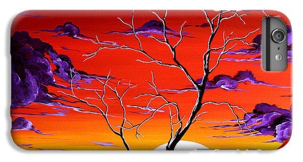 Barren iPhone 6 Plus Case - Lonely Soul By Madart by Megan Duncanson