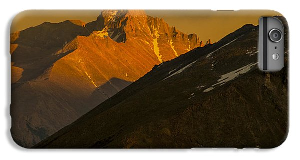 IPhone 6 Plus Case featuring the photograph Long's Peak by Gary Lengyel
