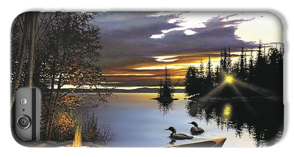 Loon iPhone 6 Plus Case - Loon Lake by Anthony J Padgett