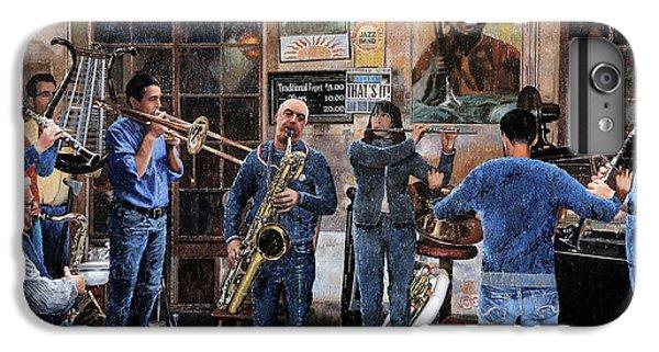Trumpet iPhone 6 Plus Case - L'orchestra by Guido Borelli