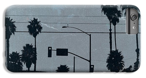 Celebrities iPhone 6 Plus Case - Los Angeles by Naxart Studio