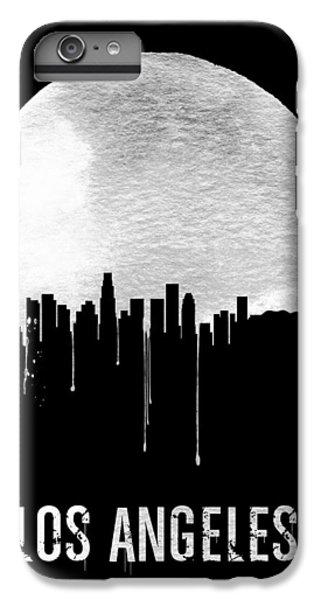 Los Angeles Skyline Black IPhone 6 Plus Case by Naxart Studio