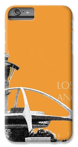 Los Angeles Skyline Lax Spider - Orange IPhone 6 Plus Case