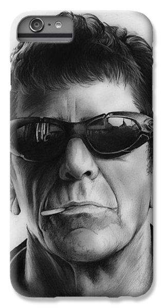 London Tube iPhone 6 Plus Case - Lou Reed by Greg Joens