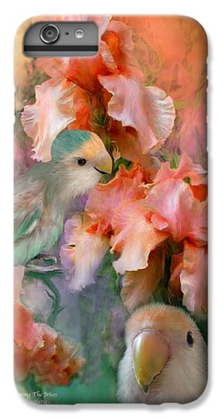 Love Among The Irises IPhone 6 Plus Case by Carol Cavalaris