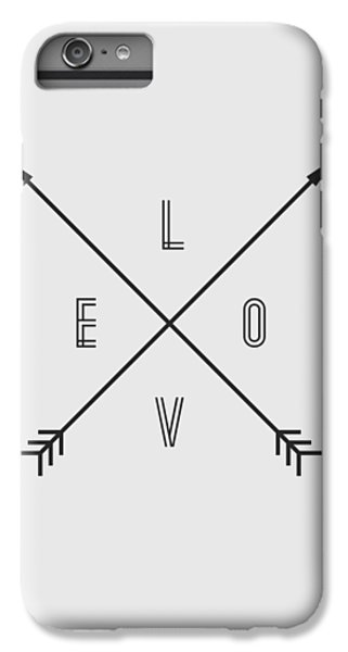 Love Compass IPhone 6 Plus Case by Taylan Apukovska