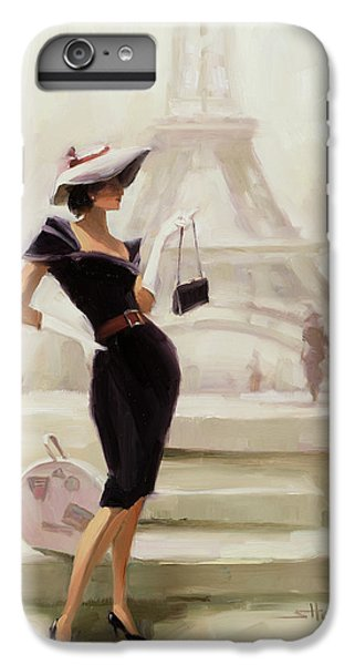 Figurative iPhone 6 Plus Case - Love, From Paris by Steve Henderson