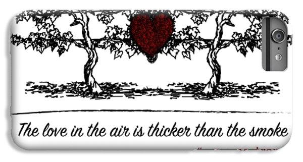 Love In The Air IPhone 6 Plus Case