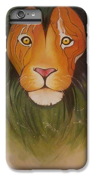 Animals iPhone 6 Plus Case - Lovelylion by Anne Sue