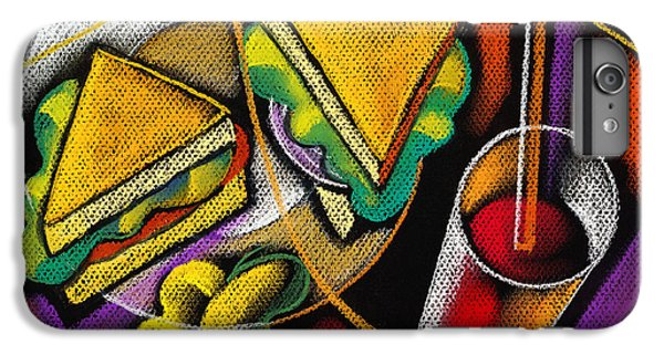 Lunch IPhone 6 Plus Case by Leon Zernitsky