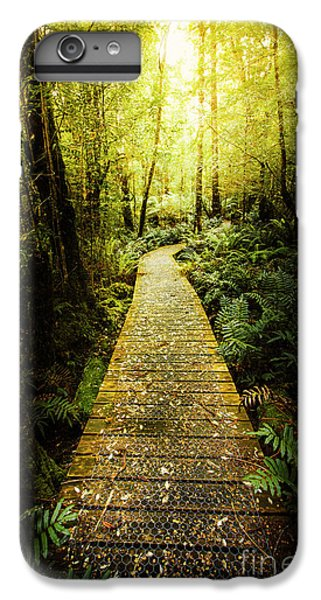 Nature Trail iPhone 6 Plus Case - Lush Green Rainforest Walk by Jorgo Photography - Wall Art Gallery