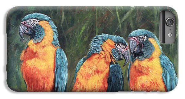 Macaws IPhone 6 Plus Case by David Stribbling
