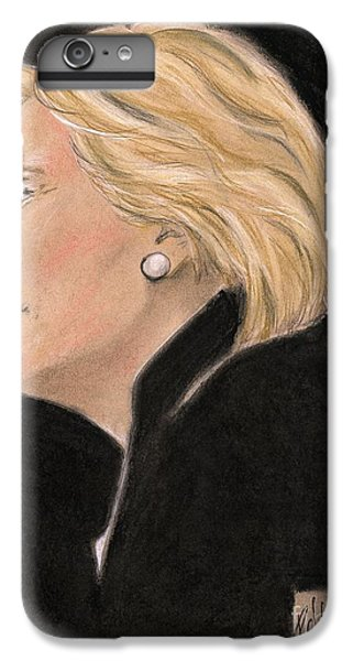 Madame President IPhone 6 Plus Case by P J Lewis