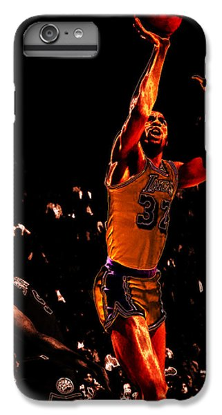 Magic Johnson Lean Back II IPhone 6 Plus Case by Brian Reaves