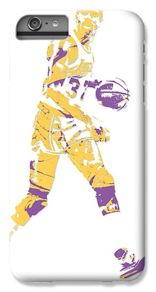 Magic Johnson Los Angeles Lakers Pixel Art 5 IPhone 6 Plus Case