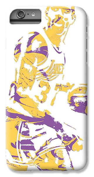 Magic Johnson Los Angeles Lakers Pixel Art 6 IPhone 6 Plus Case