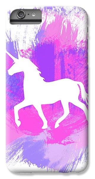 Magician iPhone 6 Plus Case - Magic Unicorn 1- Art By Linda Woods by Linda Woods