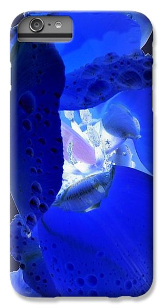 iPhone 6 Plus Case - Magical Flower I - Blue Velvet by Orphelia Aristal