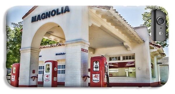 Pegasus iPhone 6 Plus Case - Magnolia Gas - Little Rock by Stephen Stookey