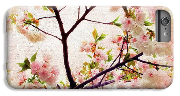 IPhone 6 Plus Case featuring the photograph Asian Cherry Blossoms by Jessica Jenney