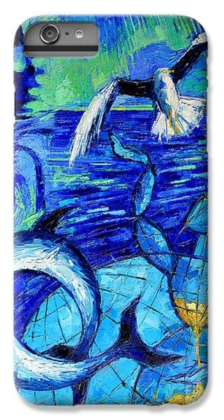 Majestic Bleu IPhone 6 Plus Case by Mona Edulesco
